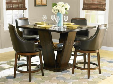Bar Height Dining Room Table Sets Ordinary Zappa Counter Height Dining Table Large Size