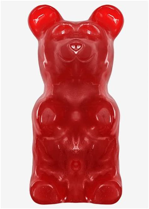 worlds largest cherry gummy bear