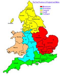 Map of Old England Kingdoms