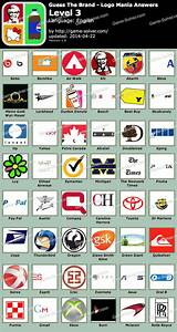 Guess The Brand Logo Mania Level 3 - Game Solver