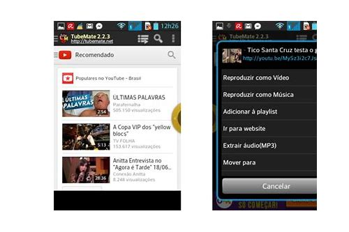 net baixar do video do youtube no iphone