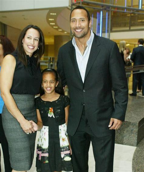 Dwayne Johnson Wife and Kids