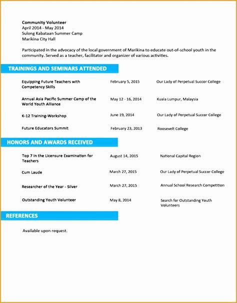 9 sle nursing curriculum vitae templates free sles
