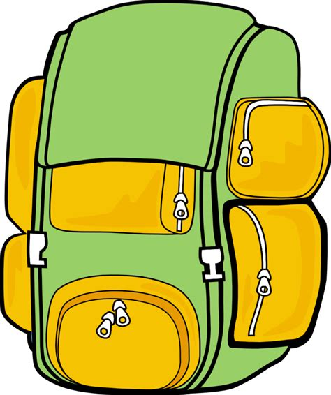 Book Bag Clipart - Cliparts Galleries