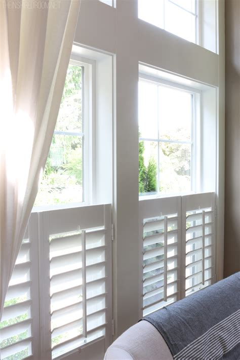 pics for gt plantation shutters with curtains