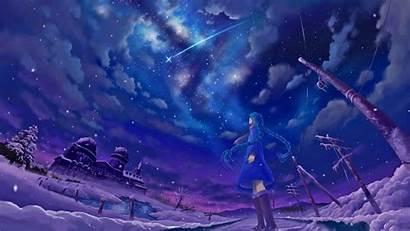 Anime Fantasy Wallpapers Purple Star Magic Manga