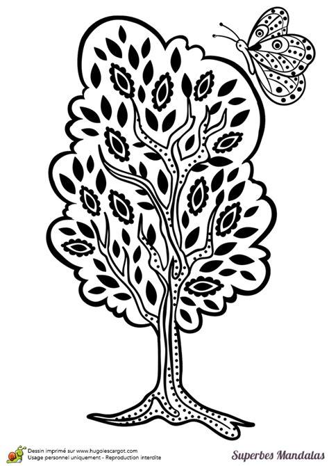 recette de cuisine en anglais dessin à colorier d un superbe mandala d arbre assez facile