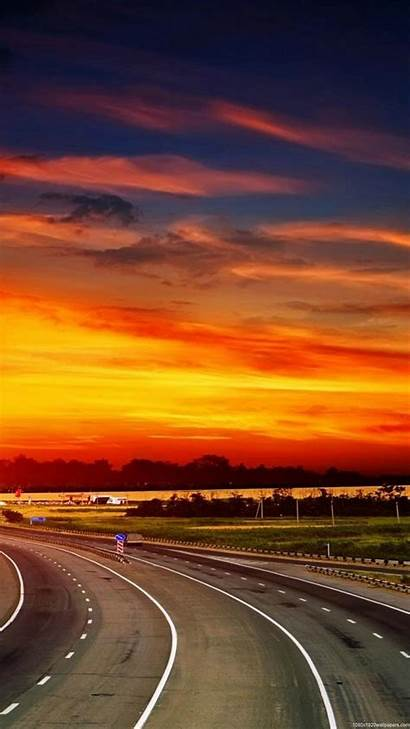 Wallpapers Nature Sunset Smartphone 1080p Mobile Android