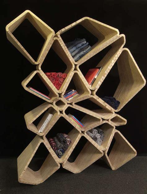 abstract honeycomb shelving softshelf  eb office