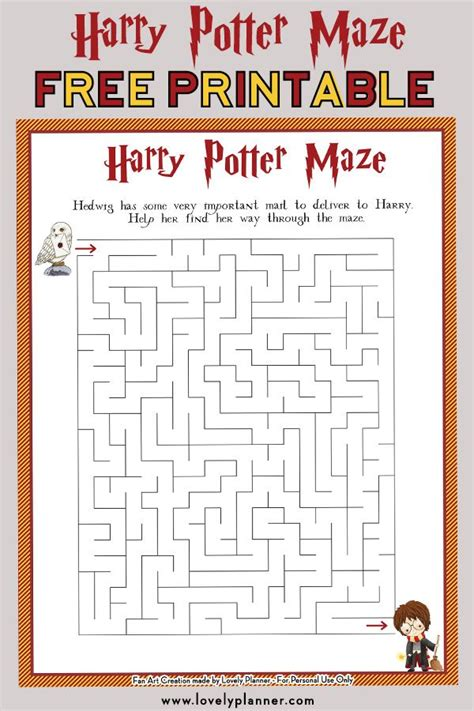 pin  harry potter party ideas printables