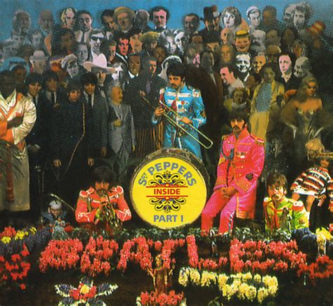 the beatles inside sgt pepper part one cd