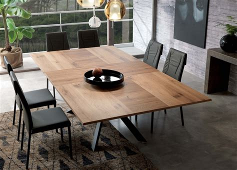 london modern restaurant furniture ozzio 4x4 extending dining table ozzio furniture at go modern
