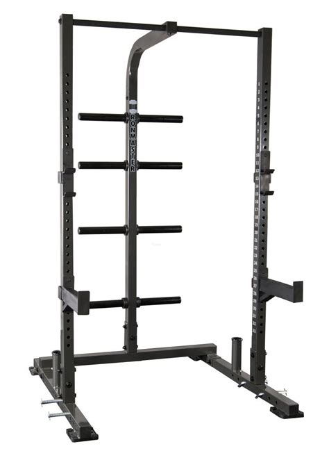 weight lifting racks ironmaster im1500 half rack weight lifting system home