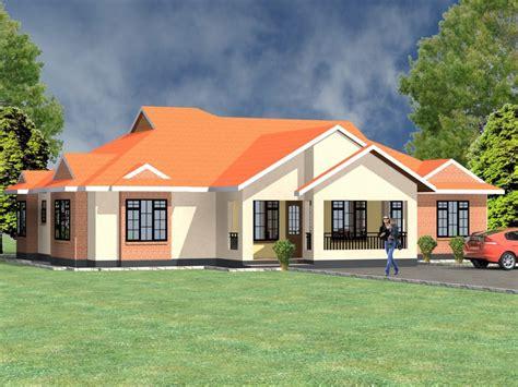 bedroom bungalow house plans  kenya hpd consult