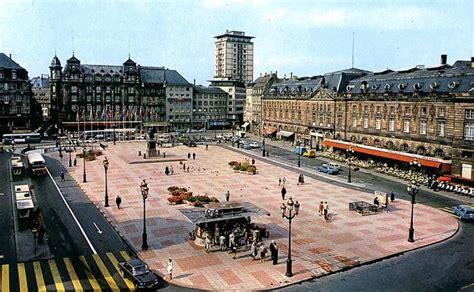 strasbourg place kleber 1960 1970 villes de strasbourg alsace and