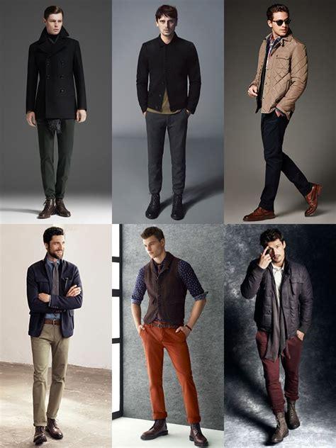 Men Autumn Winter Boots Lookbook Style Mens