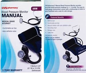 Manual Self Taking Arm Cuff Blood Pressure Monitor Medical