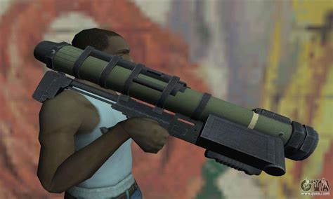 missile launcher  gta san andreas