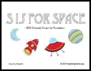 space letter  printables  images
