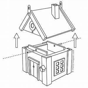 Bauanleitung Für Vogelhaus : pin vogelhaus bauanleitung on pinterest ~ Michelbontemps.com Haus und Dekorationen
