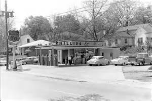 Phillips 66 Gas Station 1950