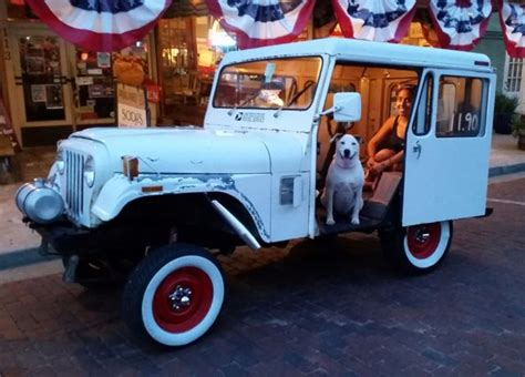 postal jeep for sale am general jeep dj5 quot a bit gassy quot wagon 1979 white for