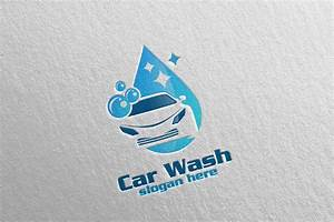 Car Wash Coloring Pages Car Wash Logo Cleaning Car Washing And Service Logo 3