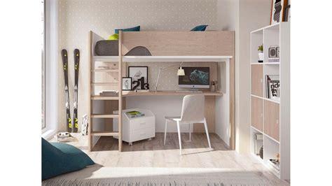 mezzanine ado bureau lit mezzanine ado avec bureau d 39 angle spacieux glicerio