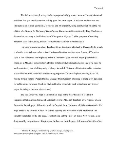 turabian  paper  footnotes sample paper austin peay stat