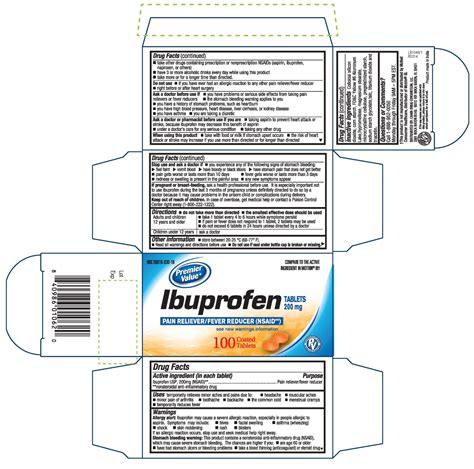 Dailymed Ibuprofen Pain Reliever Fever Reducer