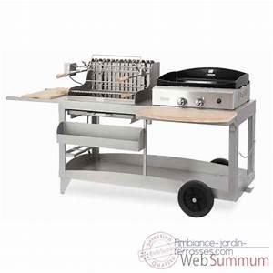 Plancha Ou Barbecue : grilloir etchalar acier a poser ou encastrer le marquier ~ Melissatoandfro.com Idées de Décoration