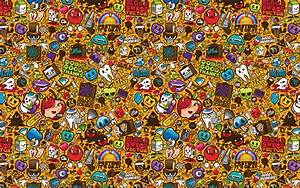 Pop Art Abstract Full HD Wallpaper and Background Image ...