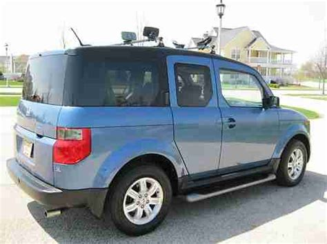 honda element roof rack purchase used honda element ex 1 owner with kayak roof