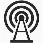 Icon Internet Radio Tower Signal Antenna Building