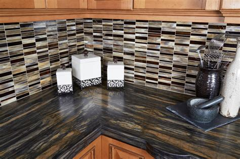 Backsplash Tile For Bathrooms by Sandalus Satin Granite Kitchen Los Angeles By