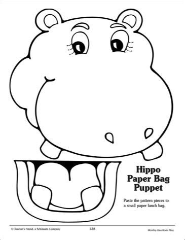 paper bag puppet templates https www search q activities children artes