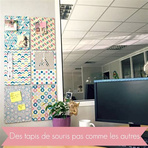 souris de bureau des tapis de souris personnalisés pour décorer bureau