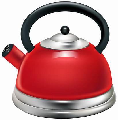 Kettle Clipart Clip Transparent Teapot Cuisine Cartoon