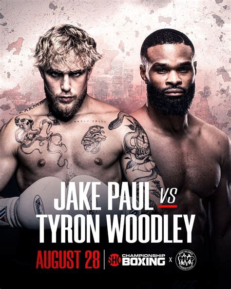 1 day ago · paul vs. Tyron Woodley vs. Jake Paul date and time: When will the ...
