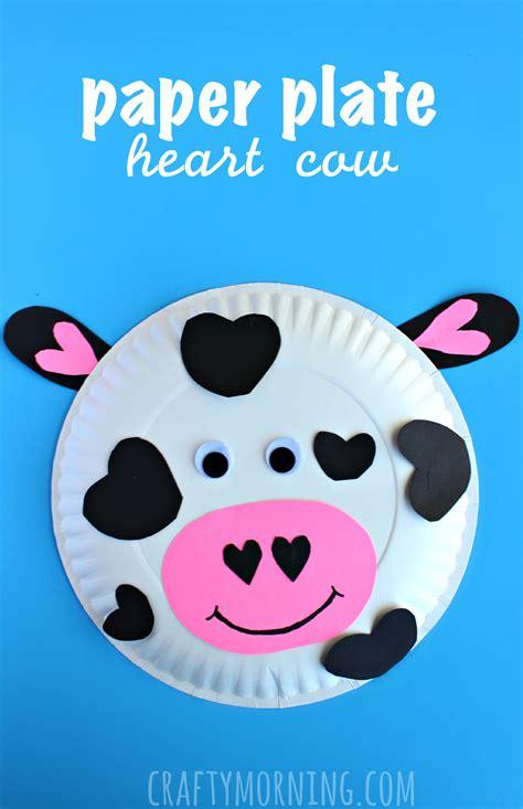 animal crafts paper plate  valentine craft  kids