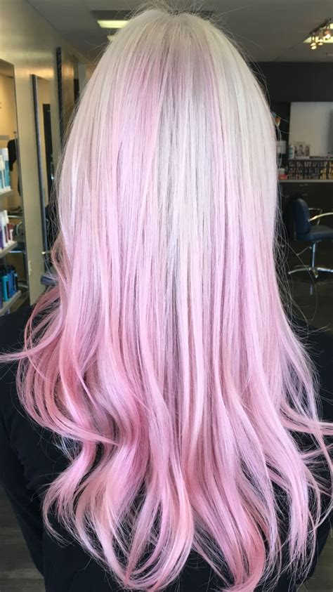 Best 25 Blonde Pink Balayage Ideas On Pinterest Pink