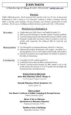 Targeted Resume Template by Targeted Resume Template Target Resume 9 Template