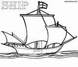 Ship Coloring Pages Colouring Sailing Print Colorings sketch template