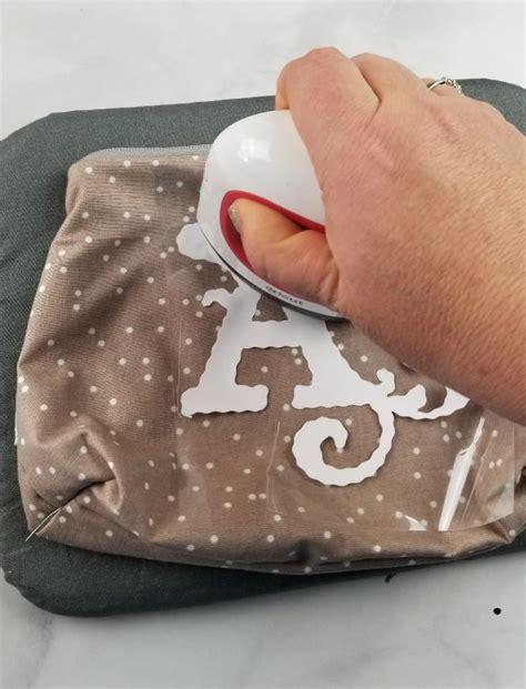 personalized makeup bags   cricut maker leap  faith crafting