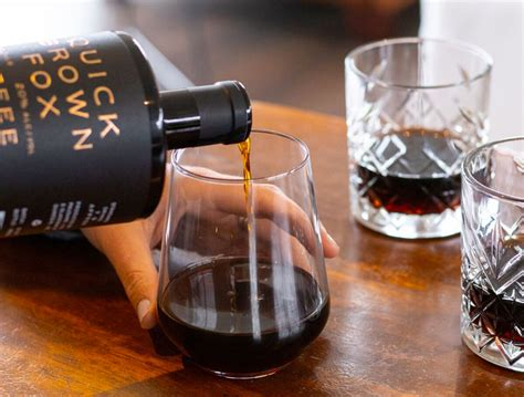 Sedangkan untuk minumannya favoritku adalah iced coffee late (28k) can't say more about it since i'm not coffee person, tapi minumannya enak. Quick Brown Fox Coffee Liqueur Just Landed from New Zealand… - MyBottleShop.org A Spirits, Beer ...