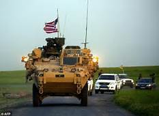 U.S. begins moving military equipment out of Syria…