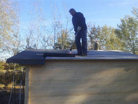 dachpappe richtig verlegen dachpappe richtig verlegen anleitung flachdach gartenhaus abdichten tipps und anleitung