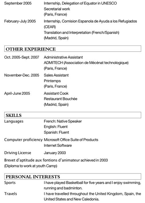 Cv En Anglais Commenté  Exemple De Cv Pour Un Stage. Resume Builder Knoxville Tn. Resume Definition In Technical Writing. Resume Builder Online. Resume Job Customer Service. Cv Template For Bangladesh. Cold Cover Letter Sample Pdf. Application For Employment Template. Curriculum Vitae Blank Format Download