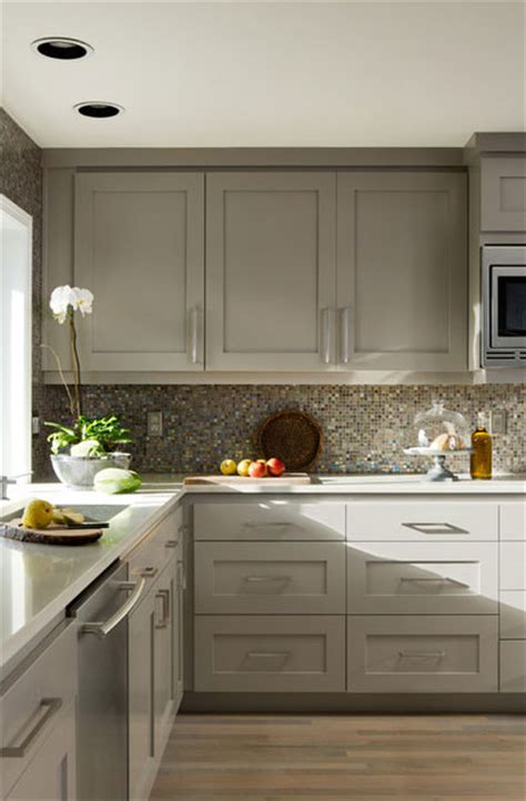 slate backsplash tiles for kitchen the psychology of why gray kitchen cabinets are so popular