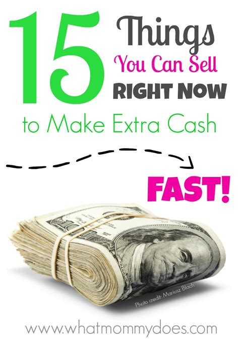 15 things you can sell to make money fast all items from